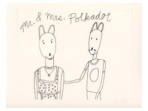 Mr. & Mrs. Polkadot as mice