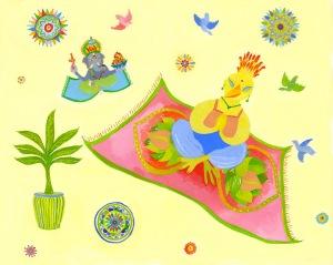 """Magic Carpet Ride from """"The Zen Hen"""""""